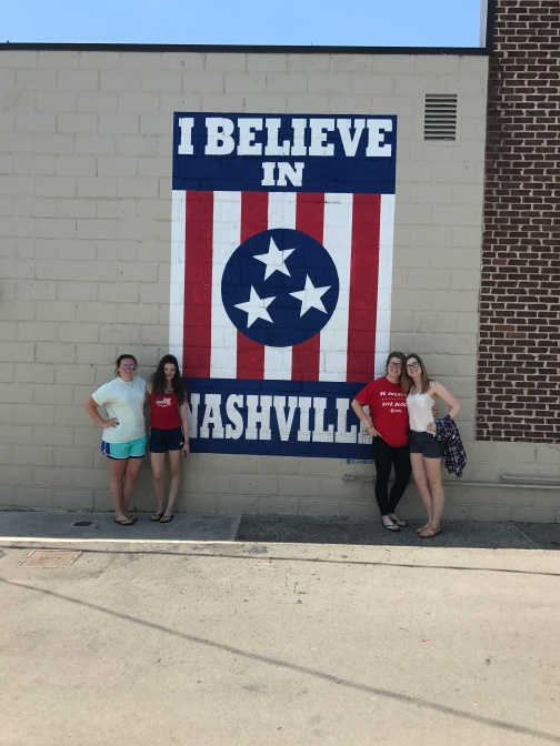 I Believe in Nashville Wall in Tennessee